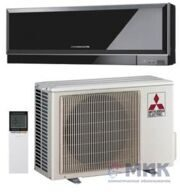 Кондиционер настенный Mitsubishi Electric MSZ-EF25VE2B (Black) / MUZ-EF25VE